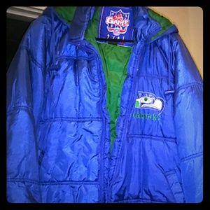 Seattle Seahawks NFL coat L